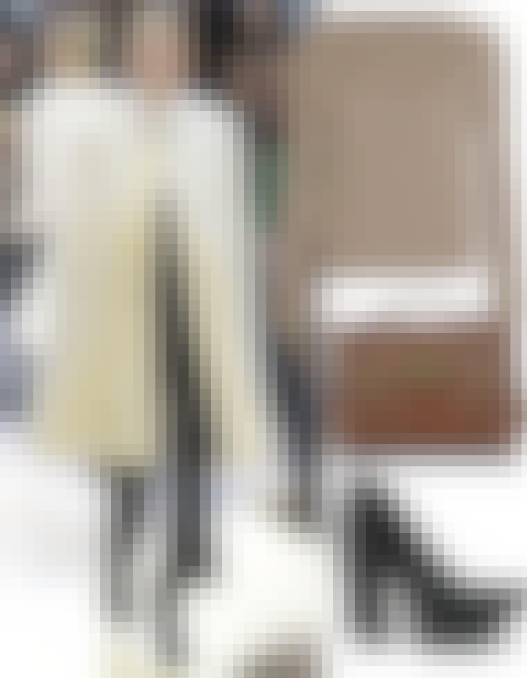 Se, hvordan du passer bedst på dine fund. Fra venstre: Pels hos Céline, cardigan fra Love Child til 1.400 kroner, taske fra Mulberry til ca. 7.000 kr. hos Mythe...
