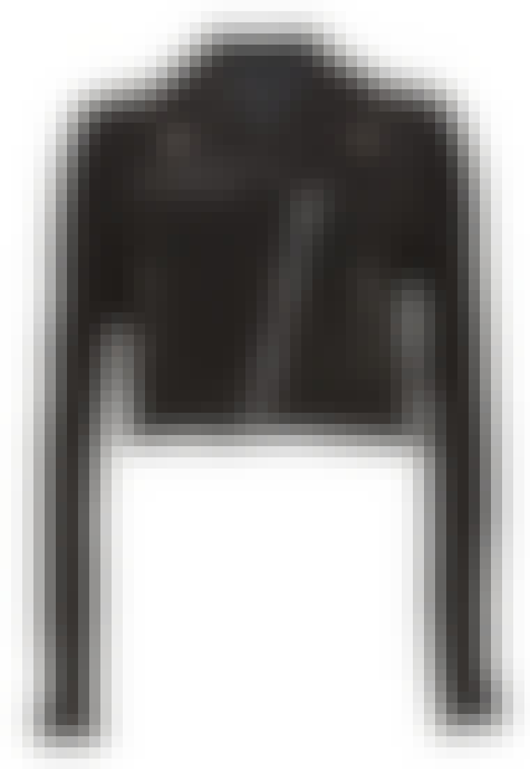 Ruskindsjakke fra Vila til 600 kr.