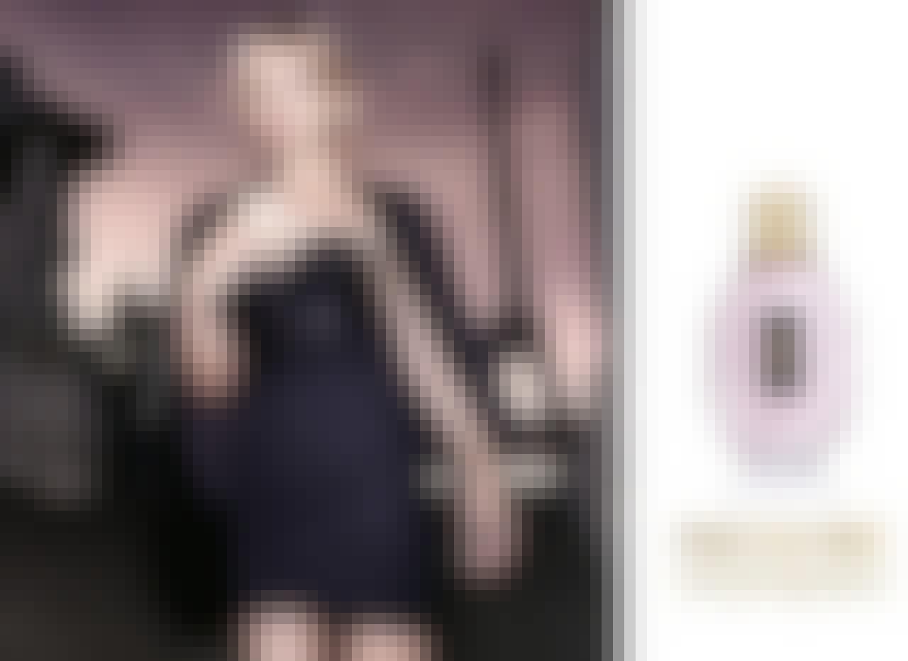 Kate Moss er det smukke ansigt for den nye duft Parisienne fra Yves Saint Laurent.