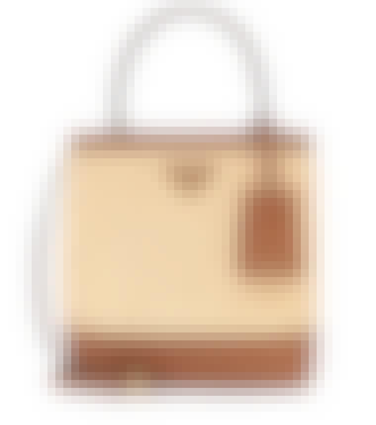 Fin og elegant sommerveske fra Prada i brun farge