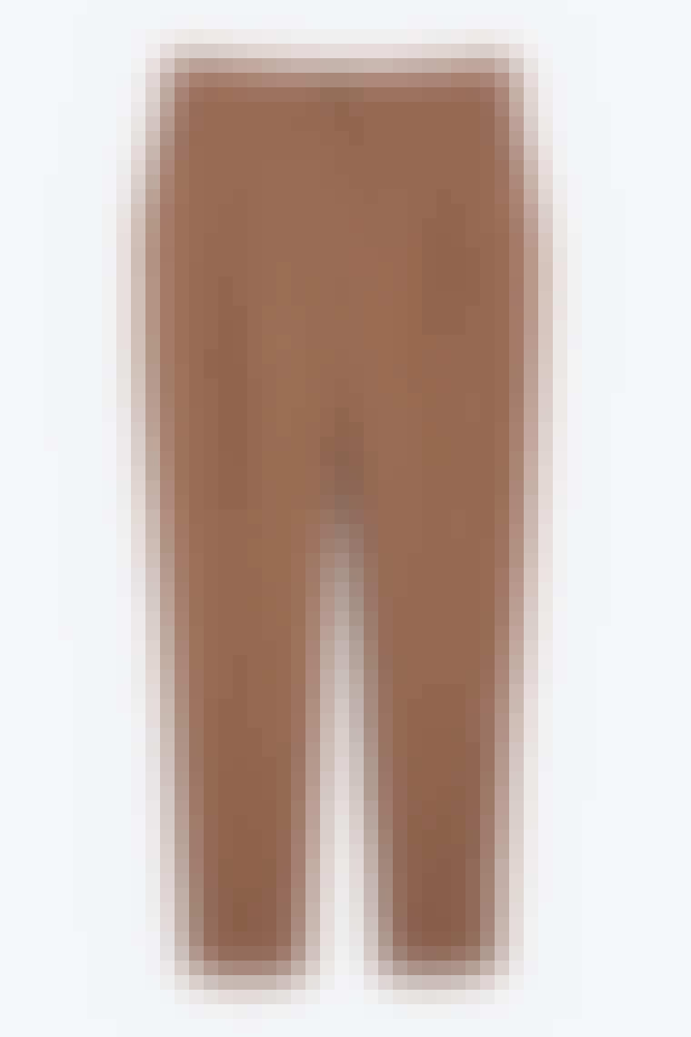 Løse og høye midjer med brune bukser fra Monki