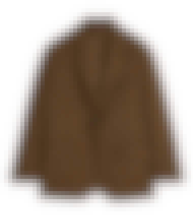 Oversized brun ullblazer fra Arket