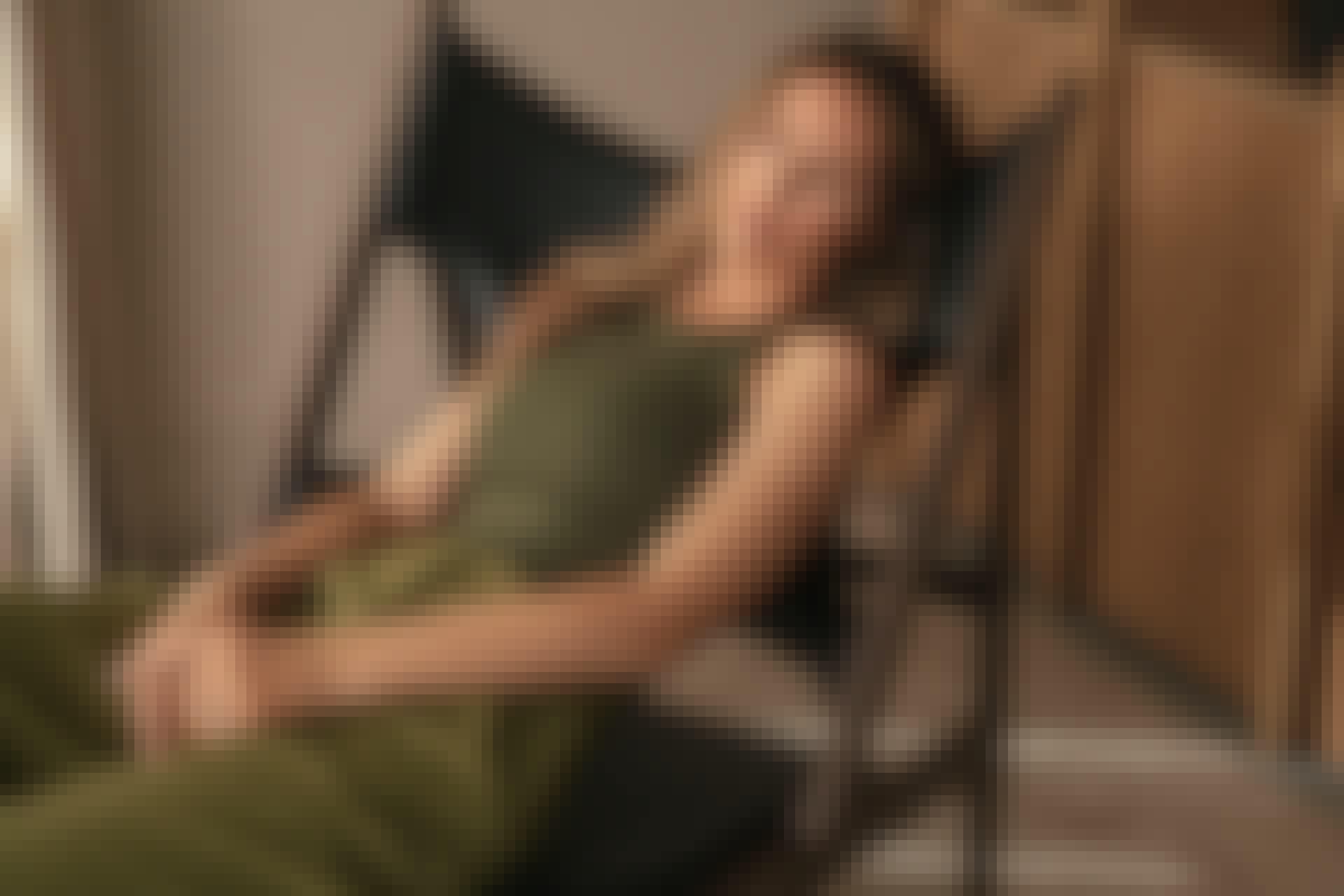 Designsamarbejdet mellem nakd og mathilde gøhler med grøn top