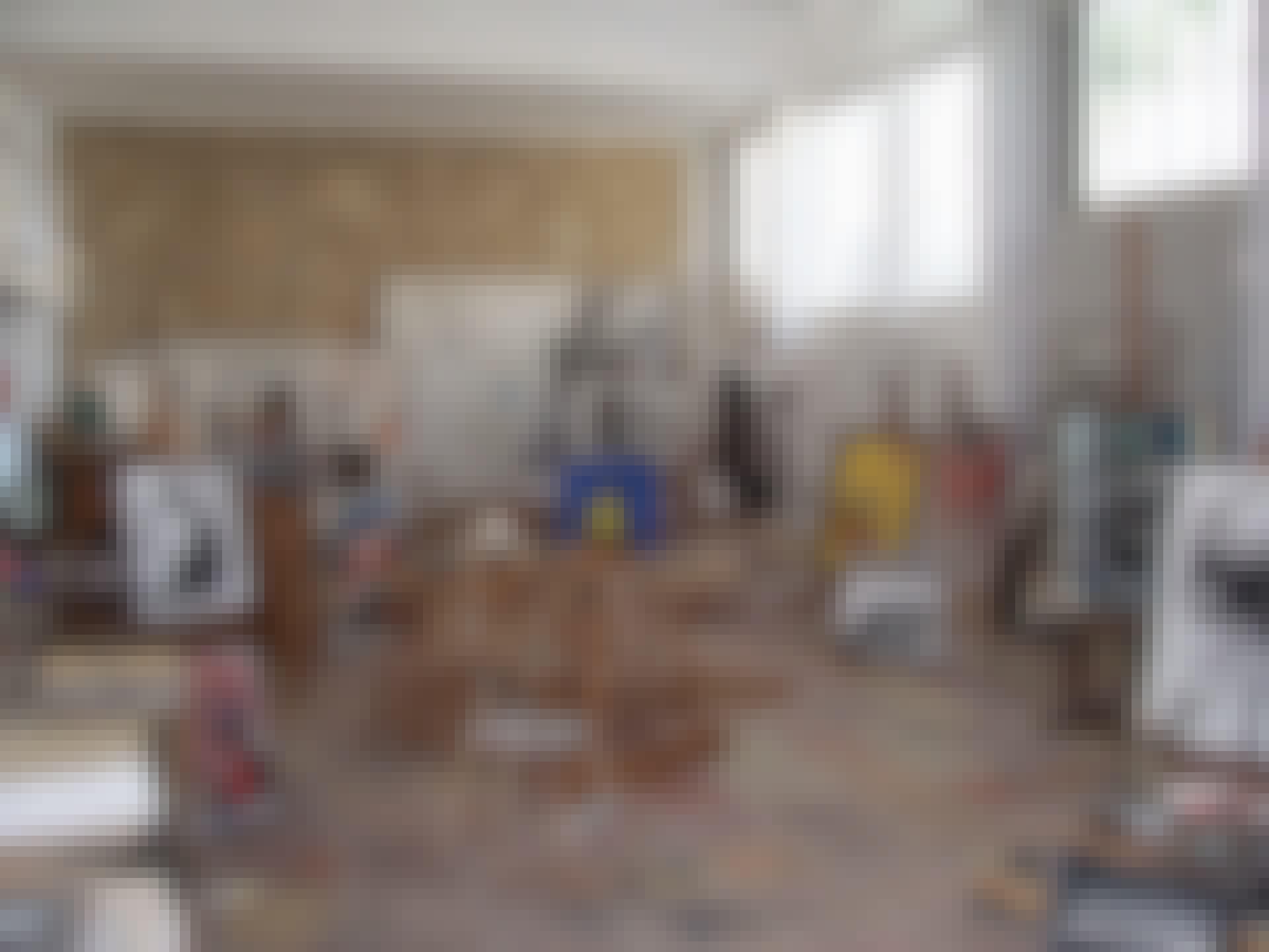 The studio of Joan Miro, Palma