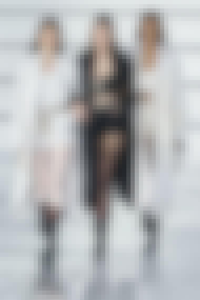Chanel, tights, logo