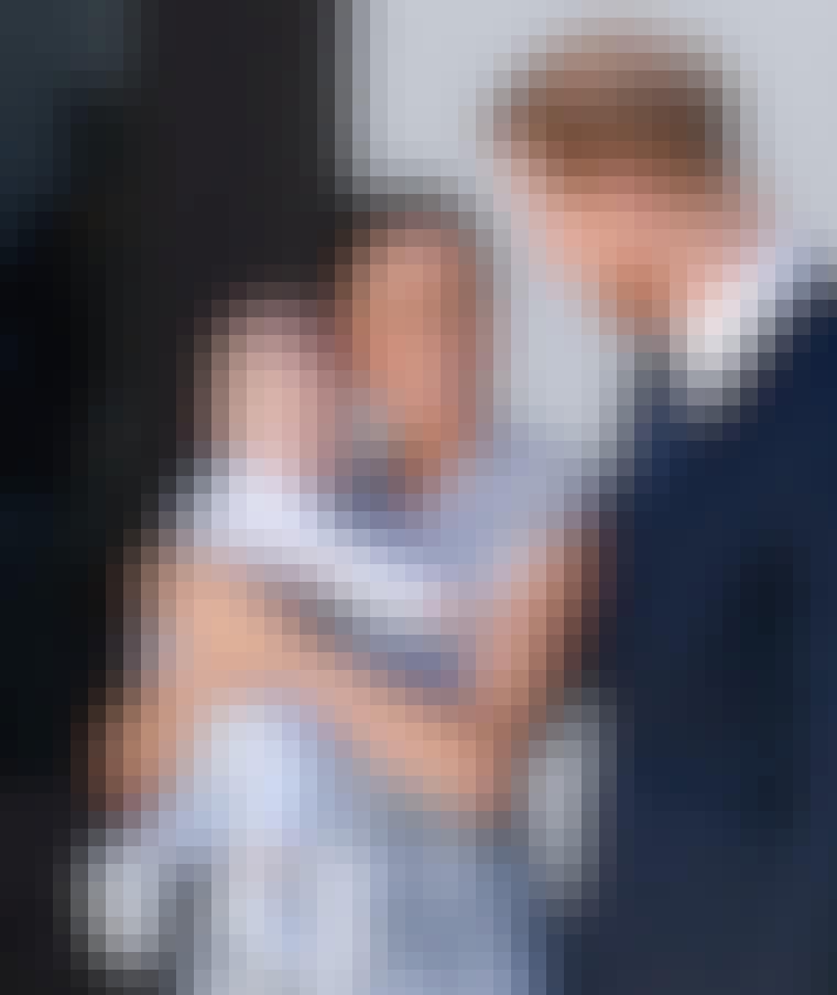 Meghan Markle og Harry med baby
