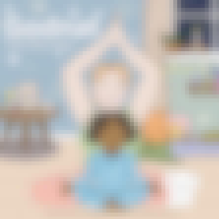 Godnat min lille skat – godnatlæsning og yoga for børn