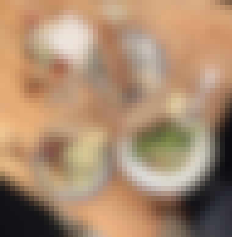 Frokost København surdejsbrød Lille Bakery Refshaleøen salat