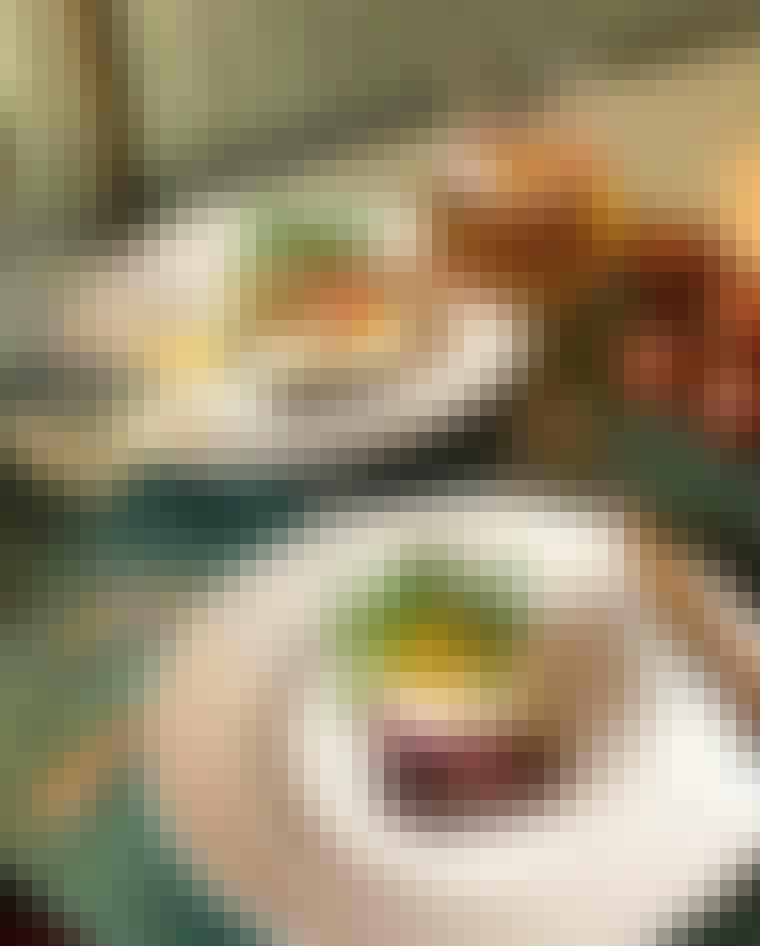 Smørrebrød tatar cæsar salat pariserbøf klassisk frokost Frederiksberg