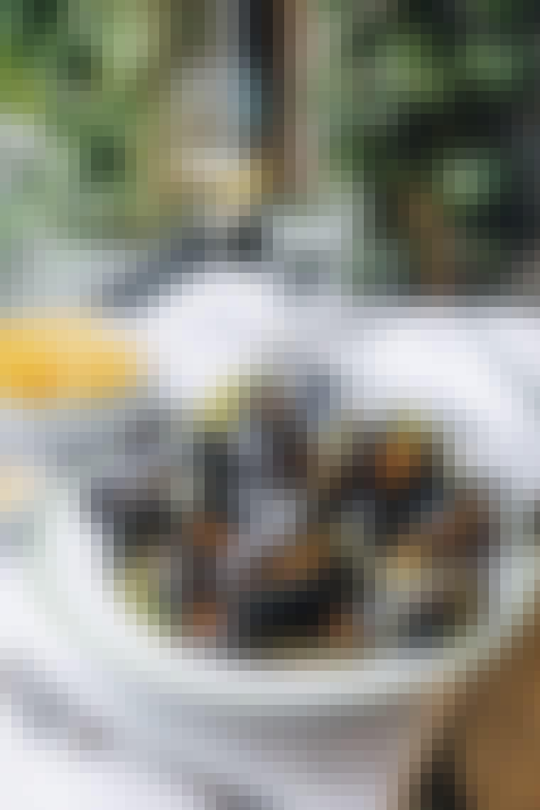 Les Trois Cochons frokost fransk Værnedamsvej tatar moule frites