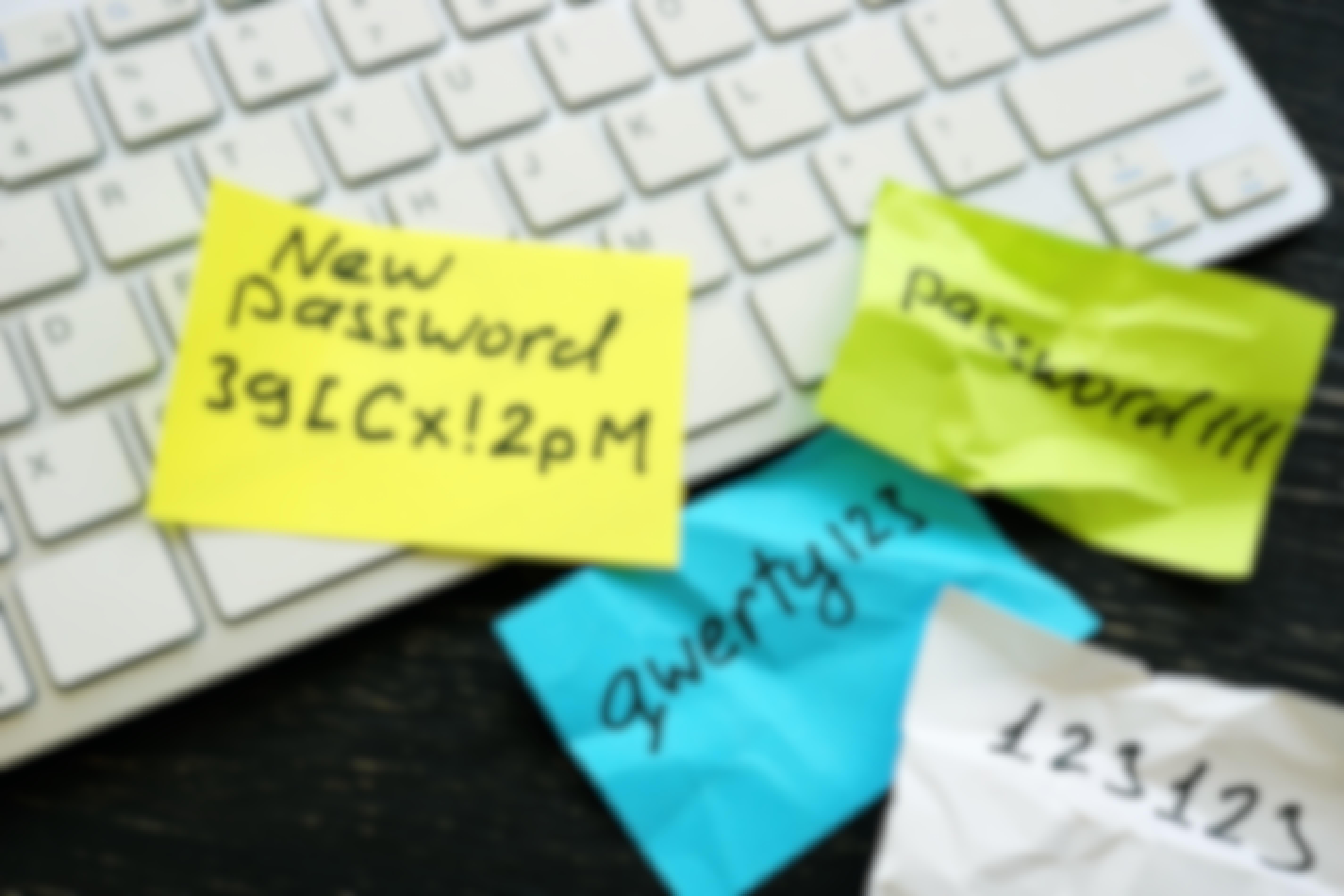 OBS! Ändra lösenord