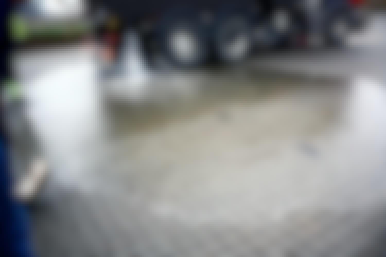 Indkørsel suger regnvandet