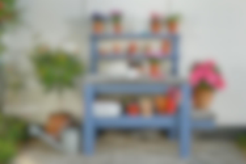Byg et flot og praktisk plantebord