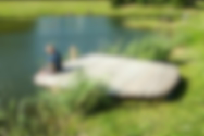 Frostfri bådebro