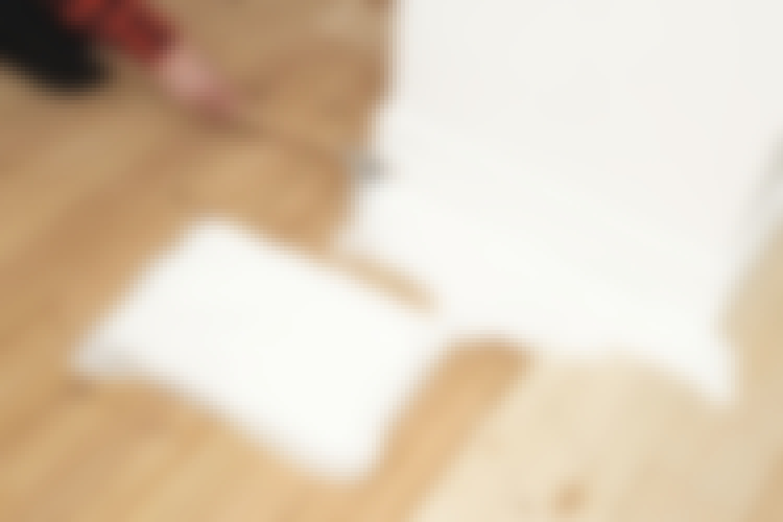 Maalattu lattia