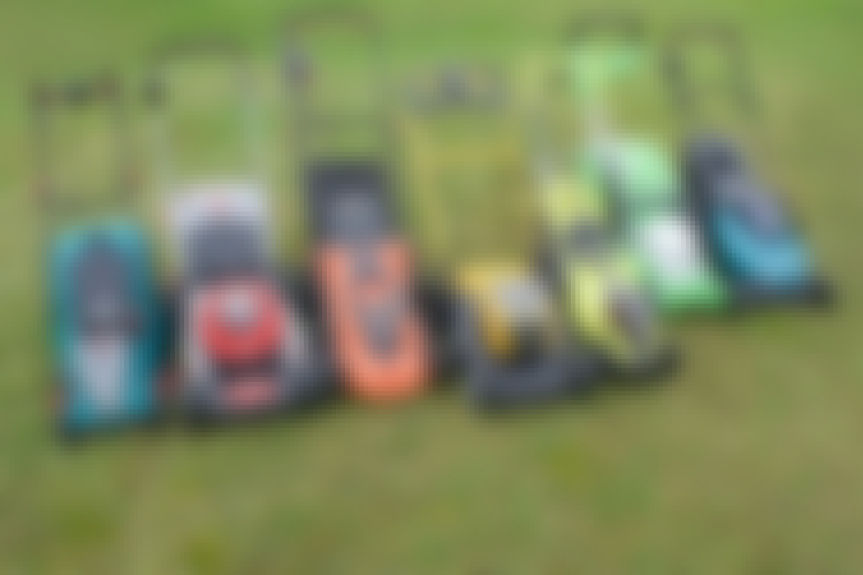 Batteridrivna gräsklippare