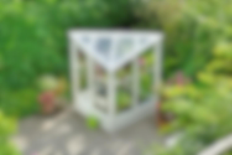 Superenkelt växthus