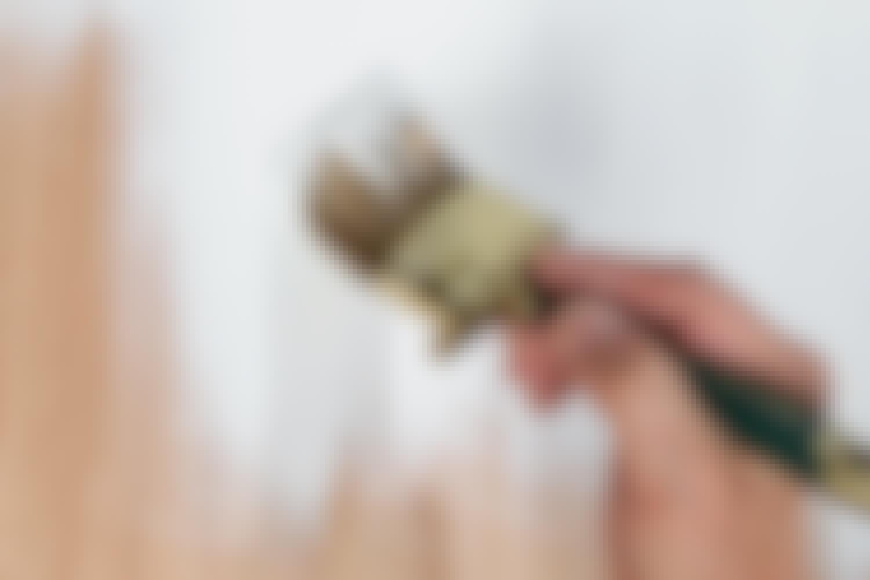 Grundmalingen hjælper din slutmaling frem til et godt resultat.