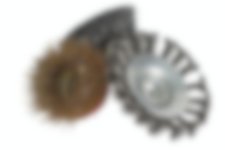 Keglebørste/stålbørste