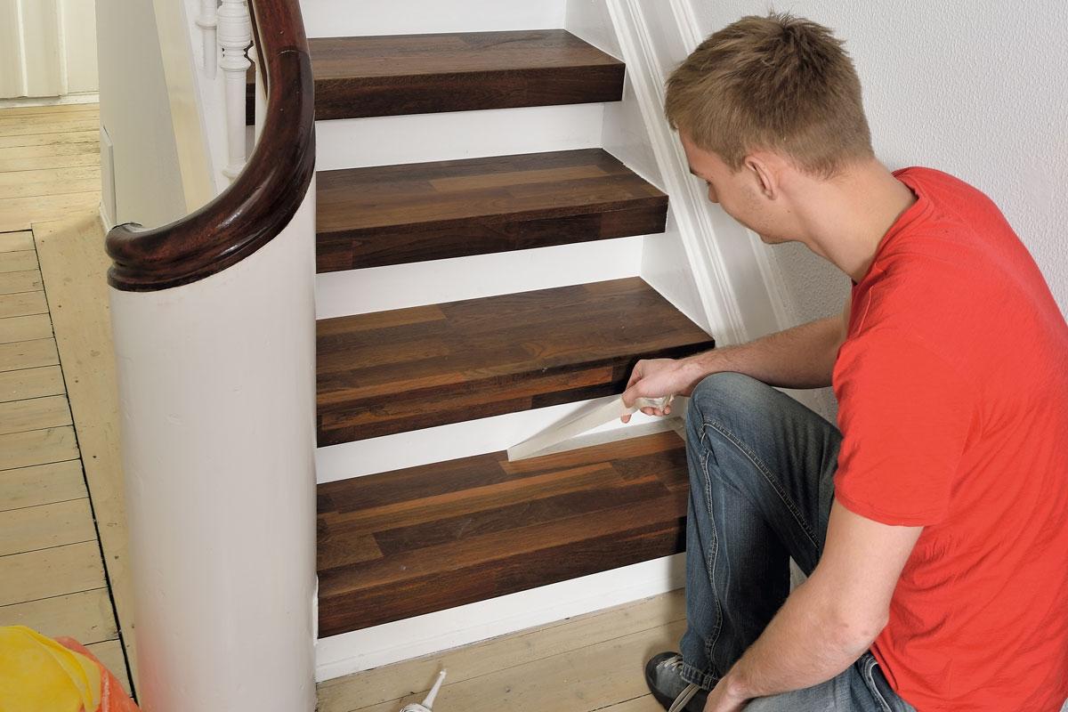 Lack till trappa: Vilken lack krävs till trappan? | Gör Det Själv