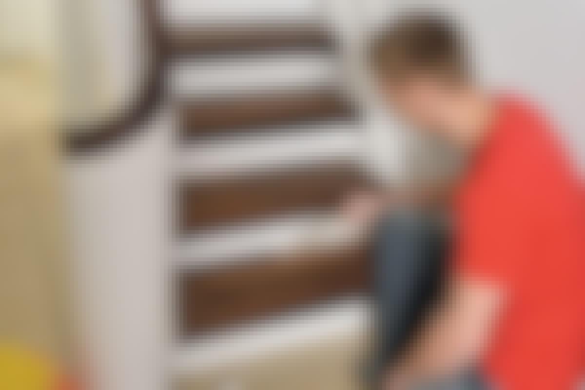 Træbeskyttelse - trapper indendørs