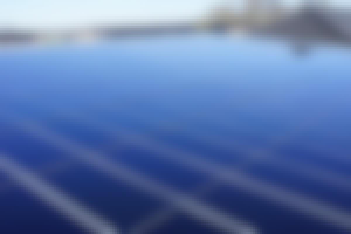Gratis el med solceller