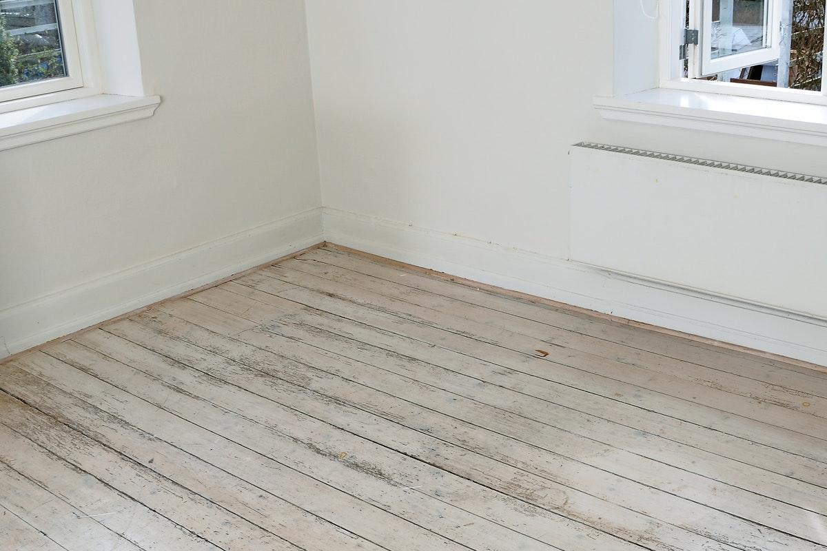 klinker på träbjälklag med golvspånplatta