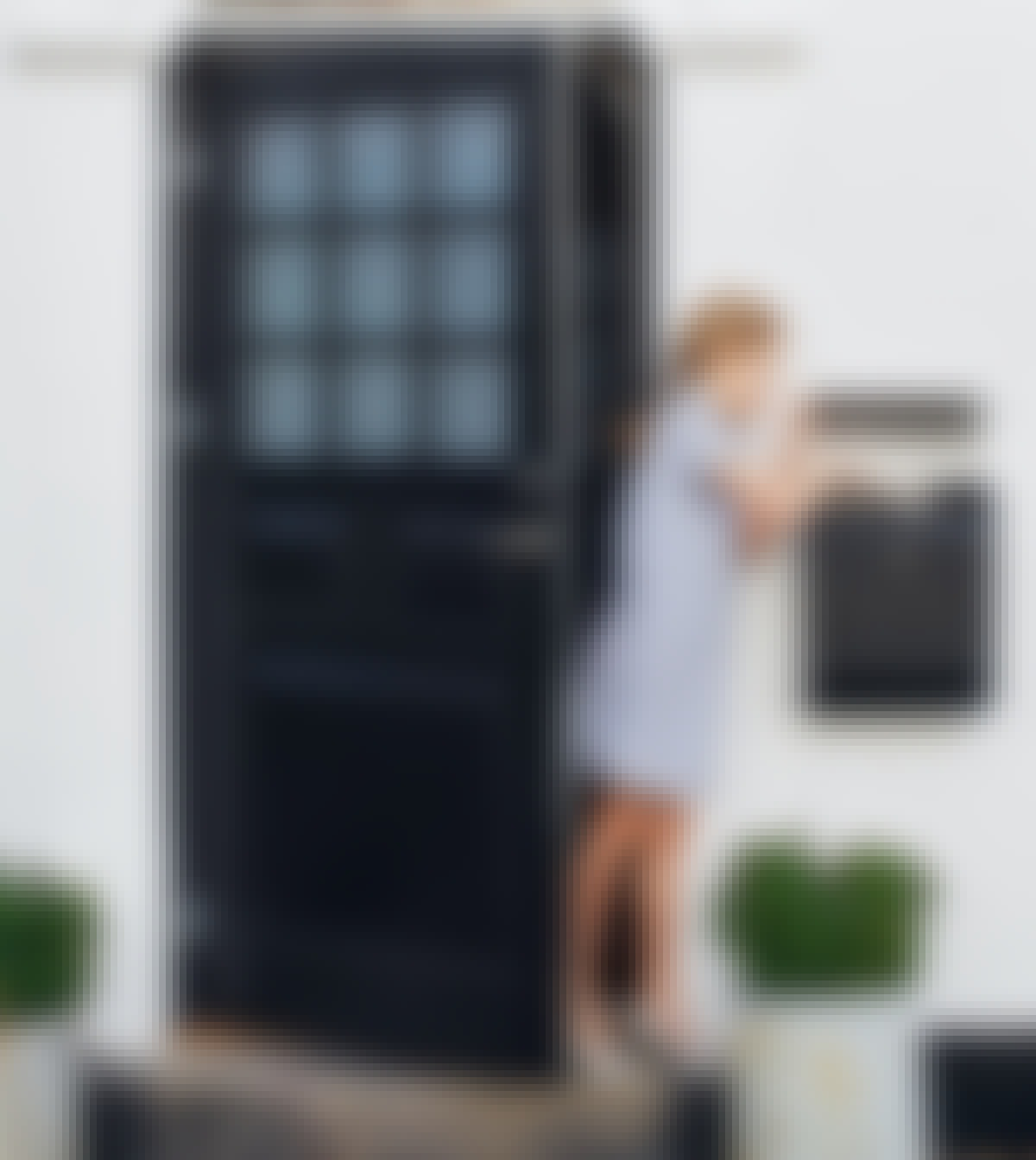 Skift hoveddøren - trin for trin