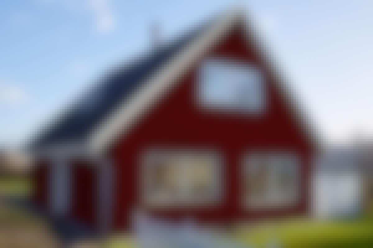 FÖRE: Det här huset ser lite slitet ut och skulle behöva en ansiktslyftning.
