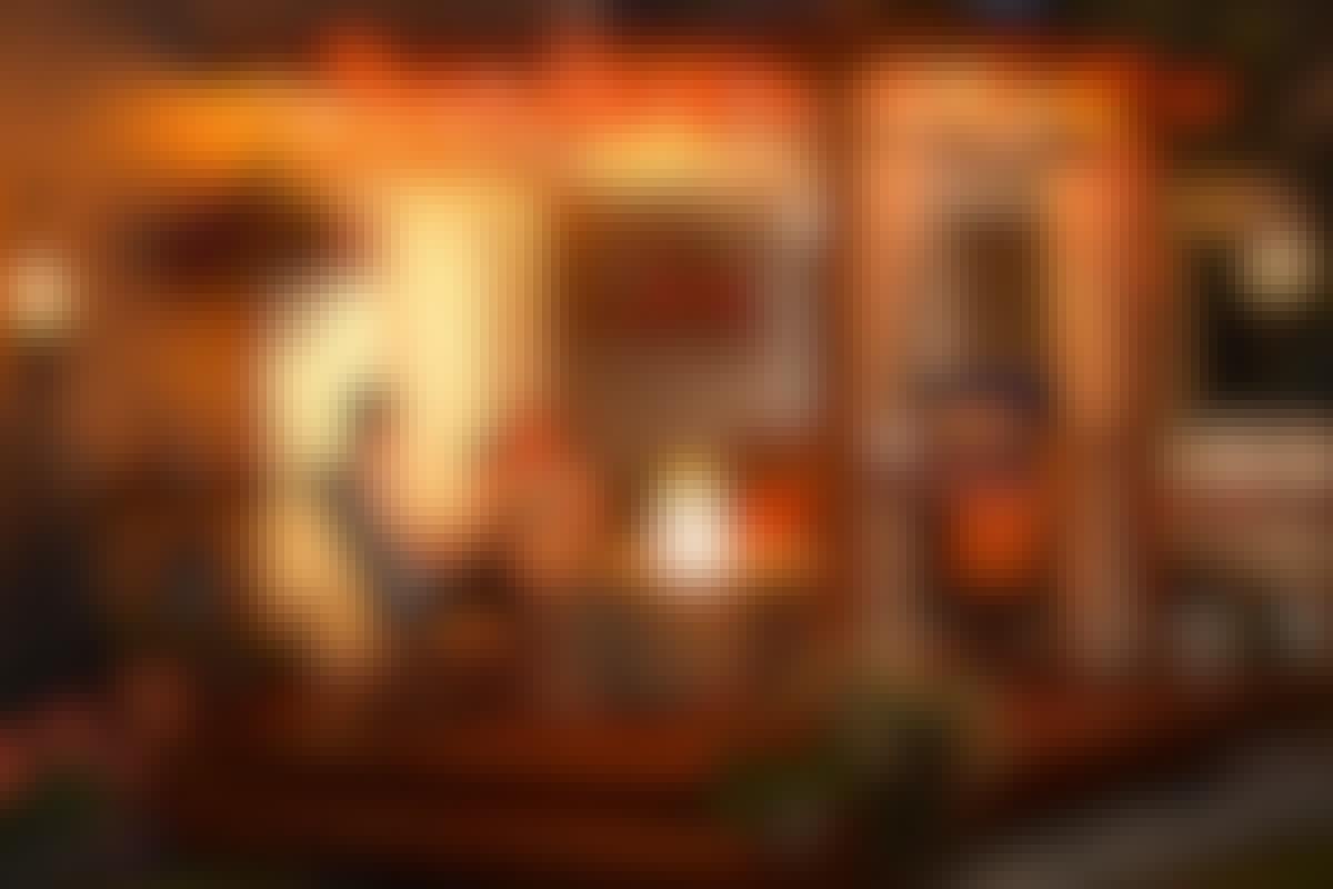 GALLERIA: Suojaa ja valoa terassille
