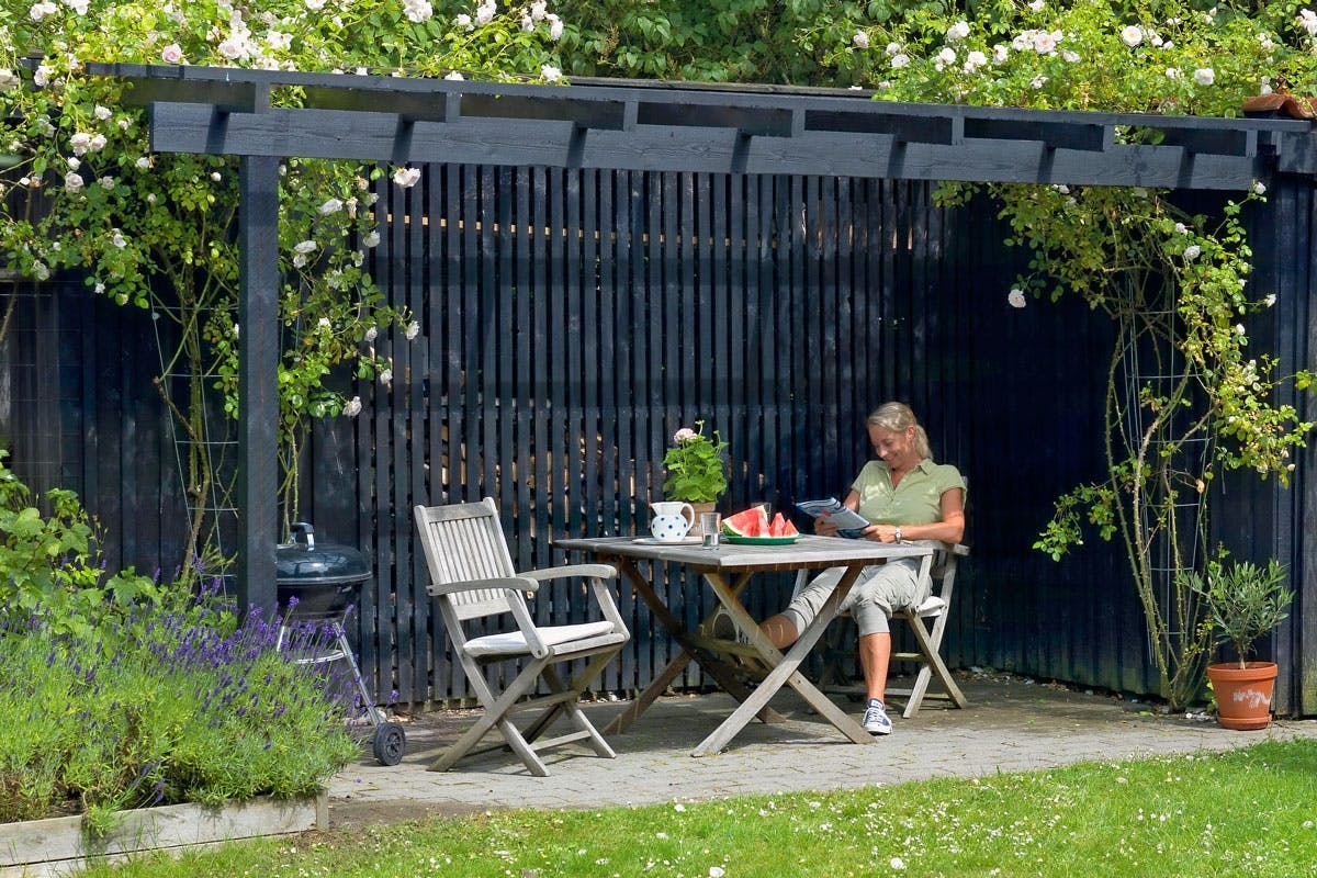 terrasse ly l og lys p terrassen g r det selv. Black Bedroom Furniture Sets. Home Design Ideas