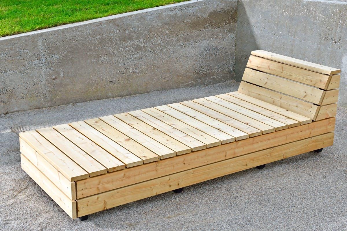 Ypperlig Hagemøbler: Lag en flott lounge i lerk | Gjør Det selv IA-36