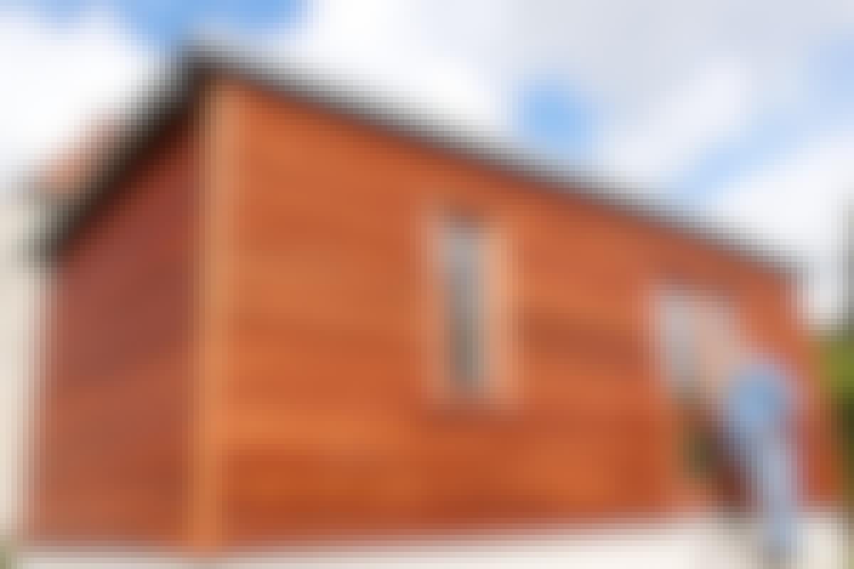 Julkisivu: Näin vuoraat talosi mahongilla