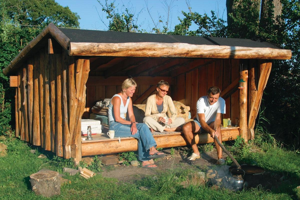 Shelter - Byg selv dit eget shelter | Gör Det Själv : bygga stuga själv : Inredning