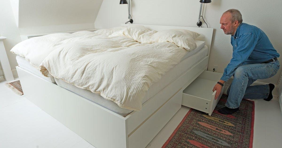 seng opbevaring Opbevaring: Udnyt pladsen under sengen | Gør Det Selv seng opbevaring