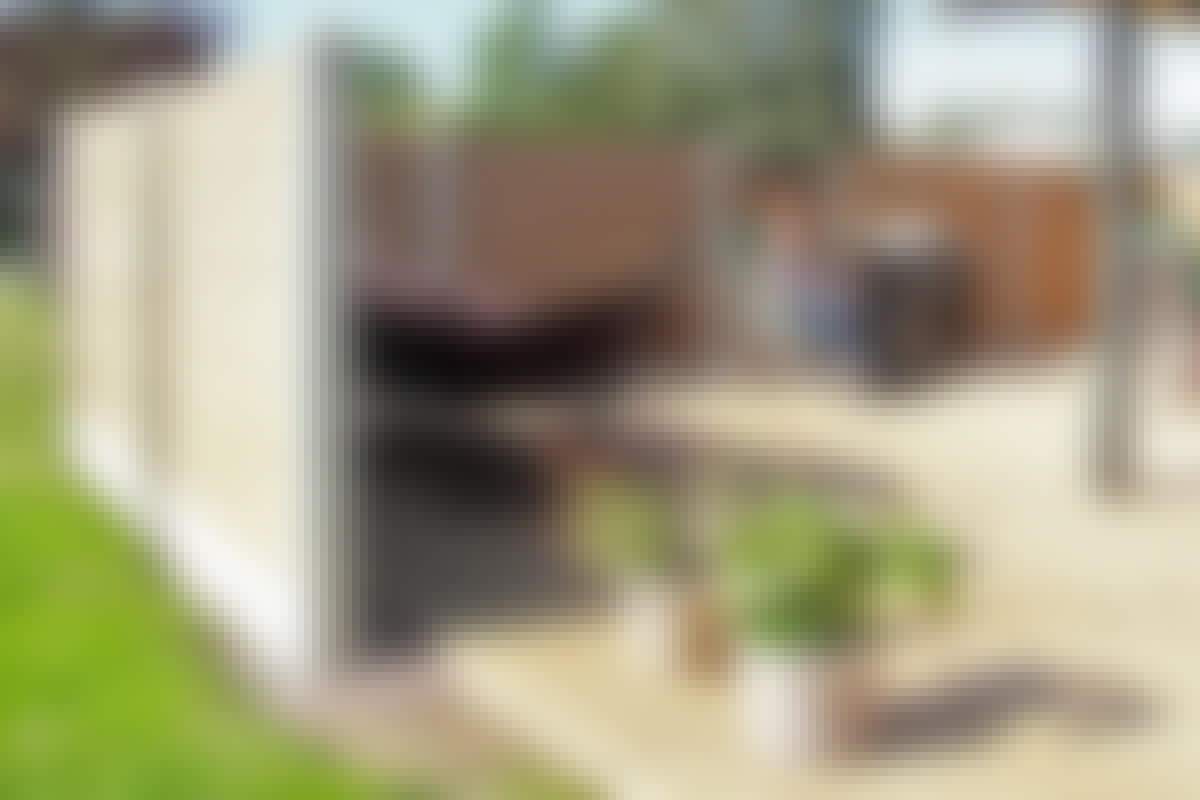 Levegg: Lag levegg av kompositt og betong