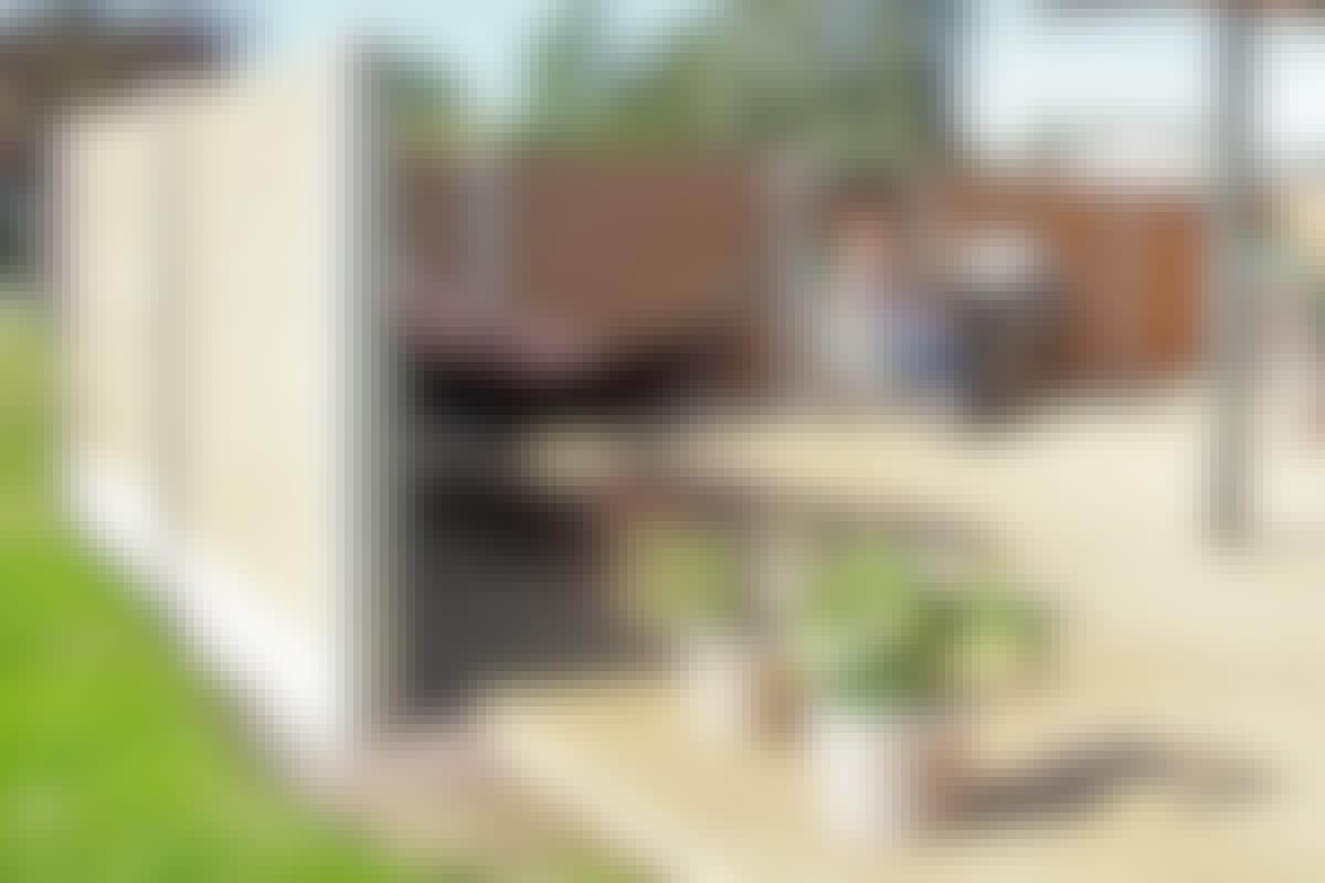 Læhegn: Byg læhegn af komposit og beton