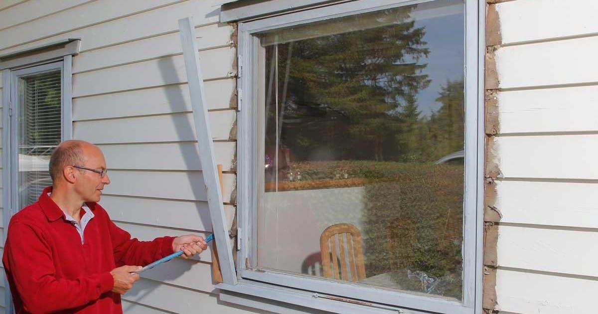 Byta fönster själv