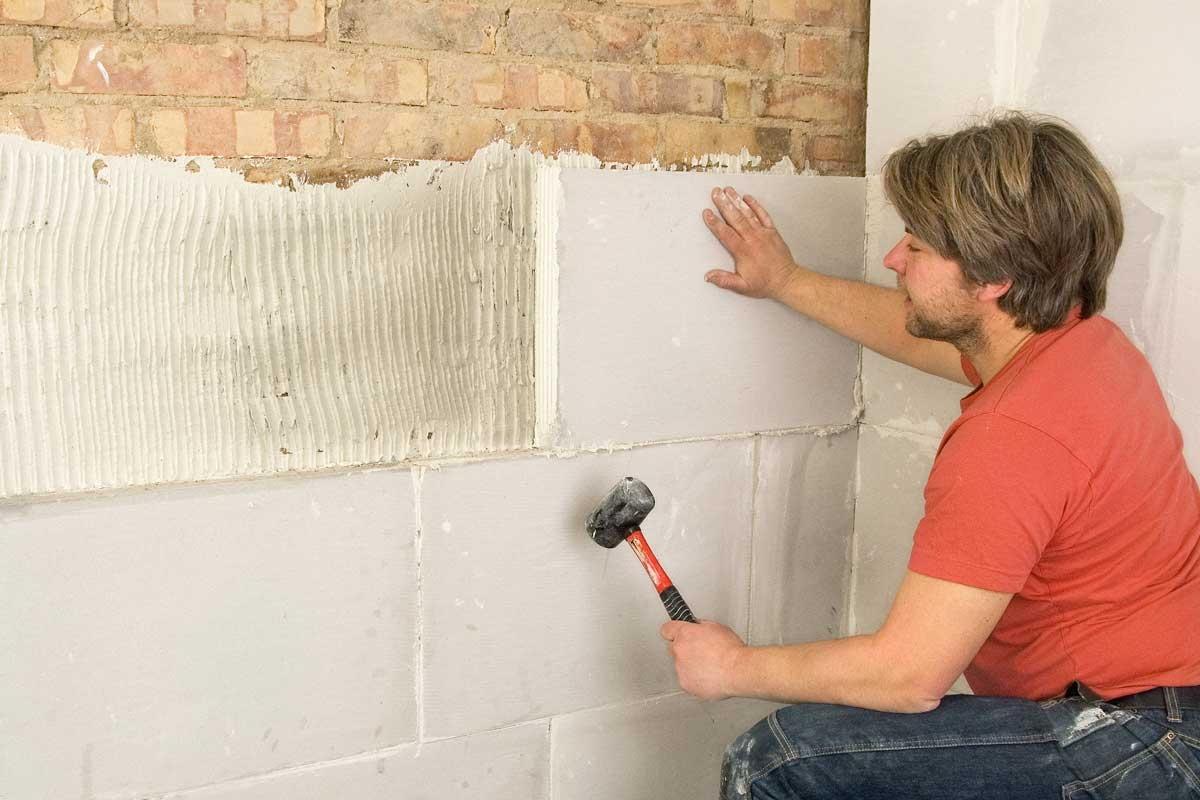 Alvorlig Indvendig isolering af væg med gasbeton | Gør Det Selv MZ08