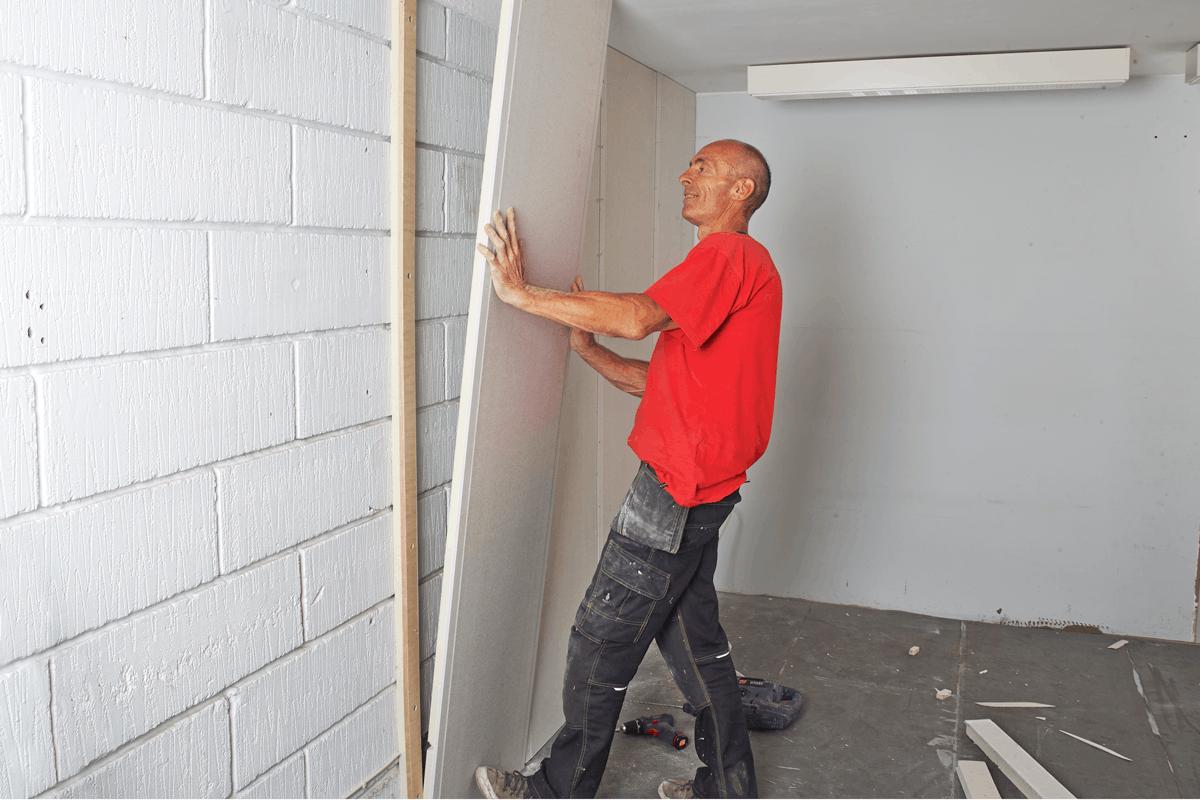 isolera väggar med frigolit