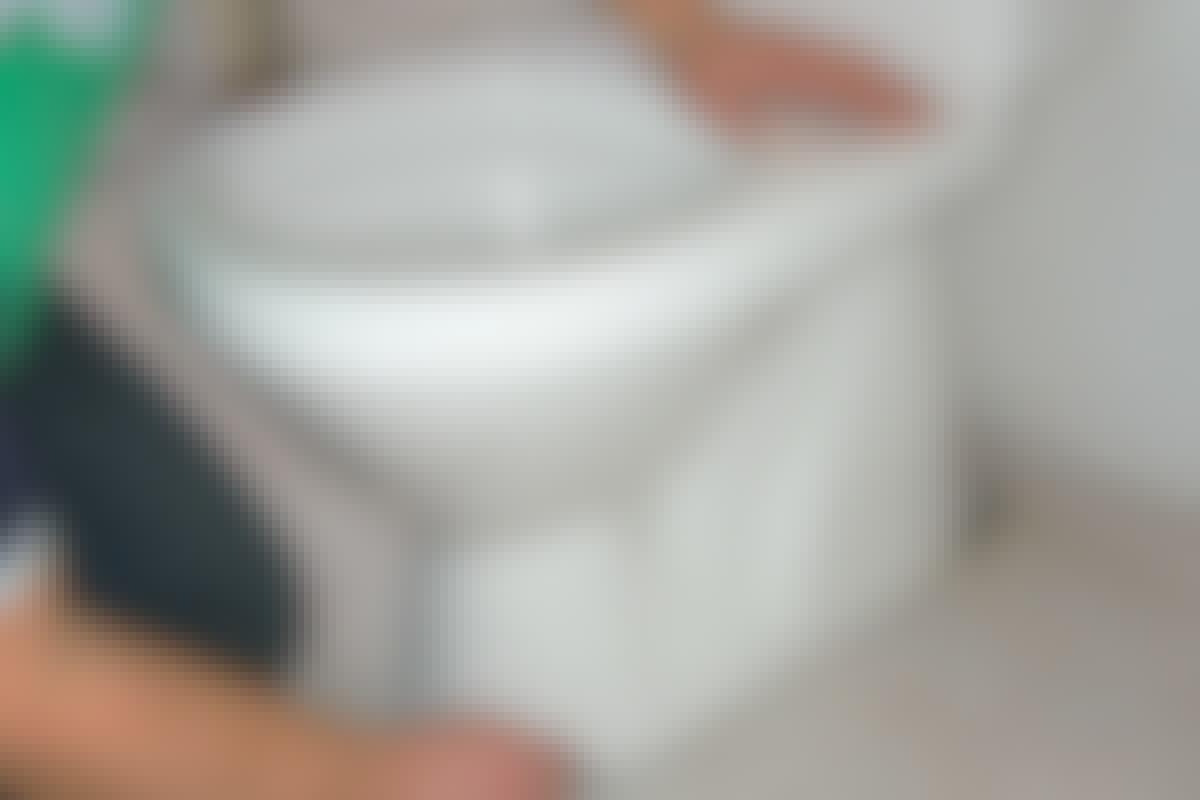 Skift toalett - det er enkelt!