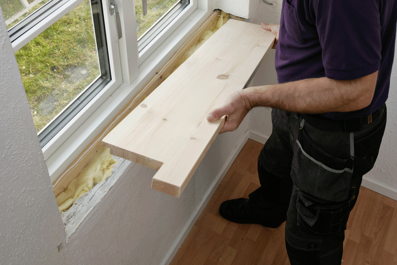 Pæn 7 bud på en ny vinduesplade | Gør Det Selv KV78