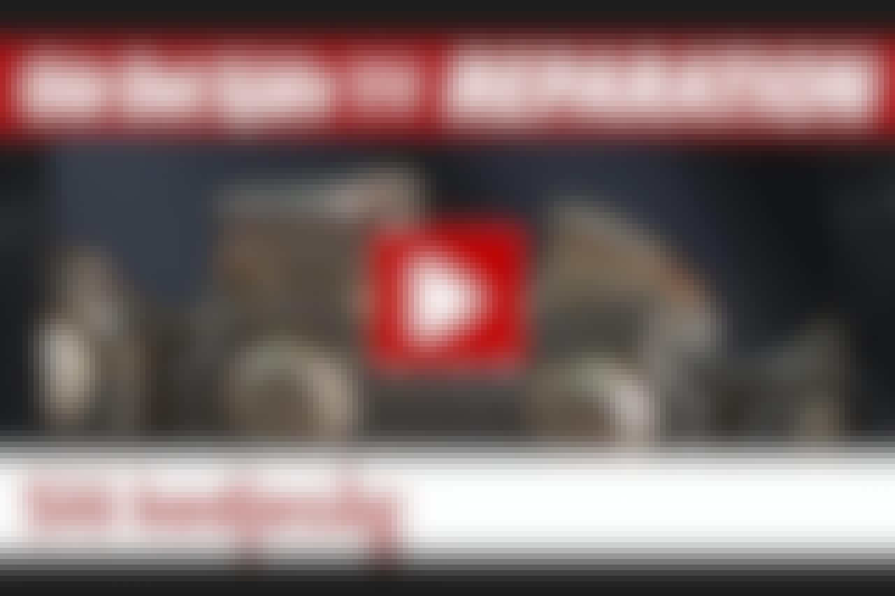 VIDEO: Kedjesågen är slö