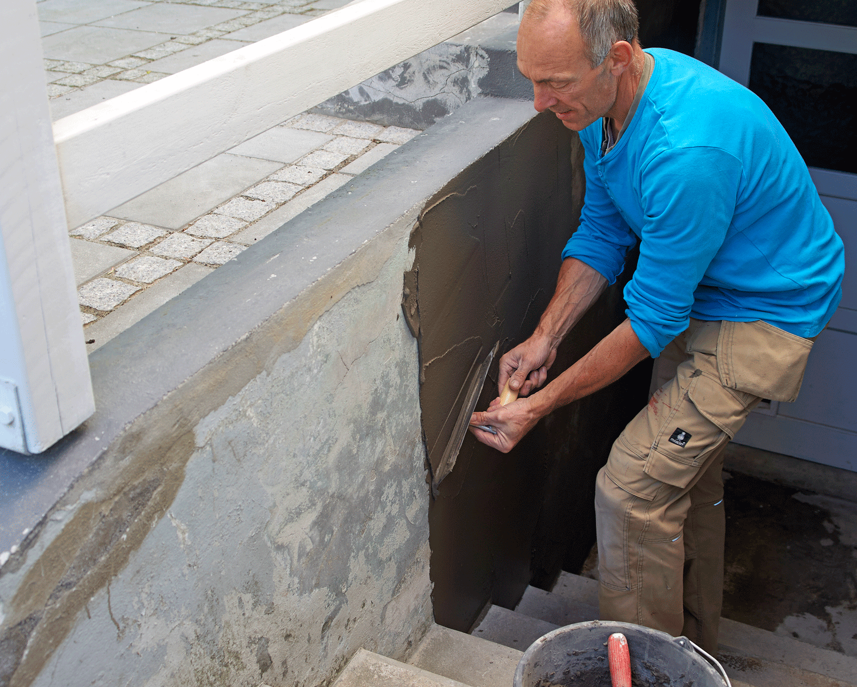 laga betongtrappa med husfix