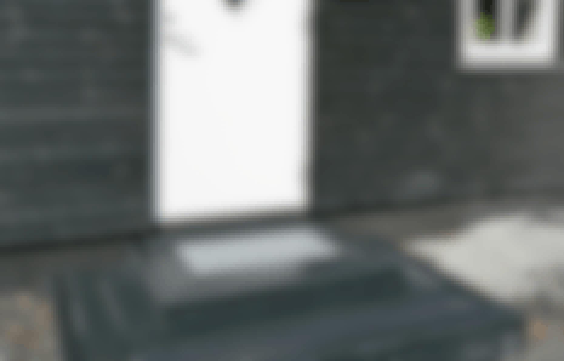 Underhållsfri trätrappa