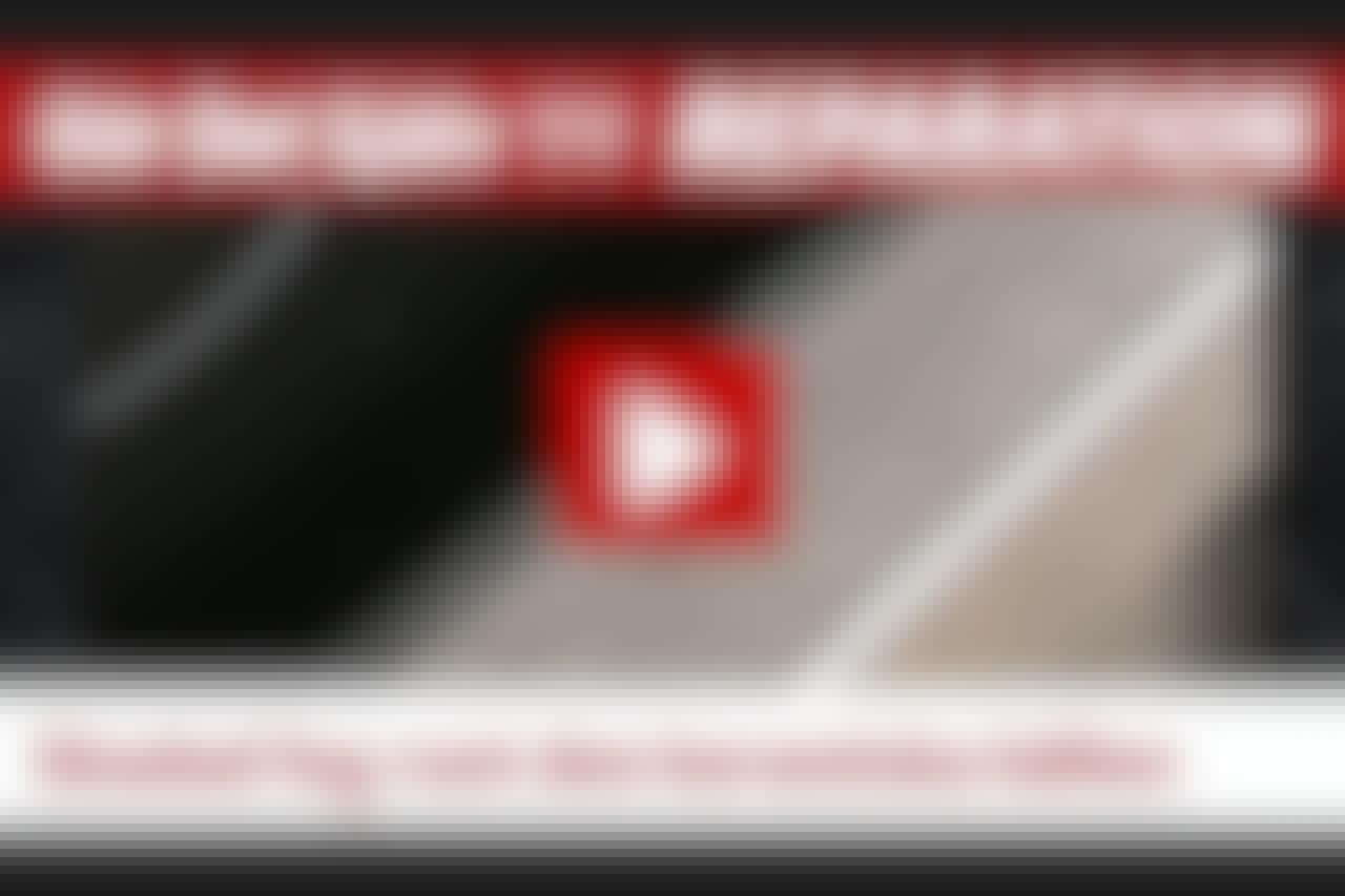 VIDEO: Förstörd fog runt spishäll