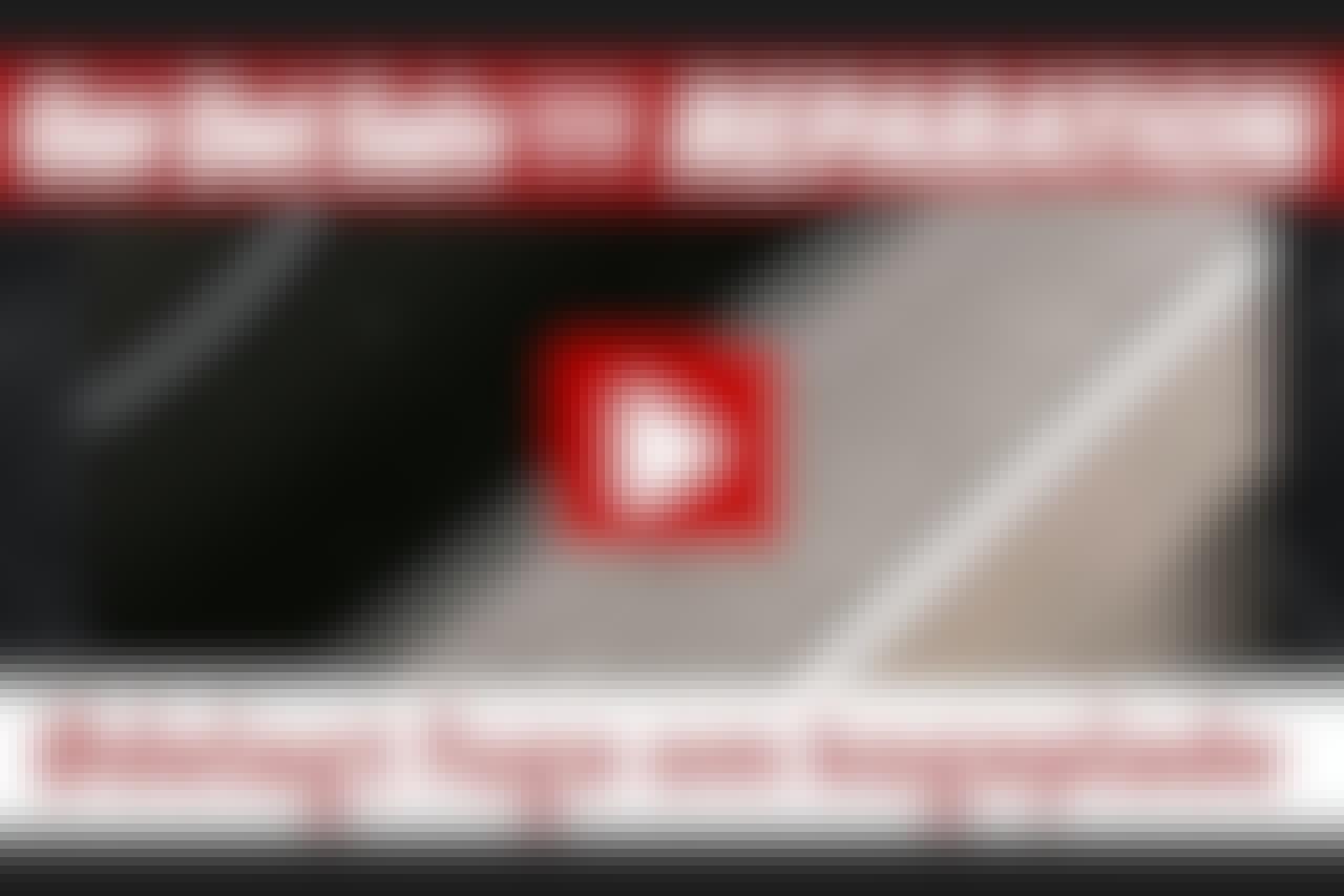 VIDEO: Ødelagt fuge om kogeplade
