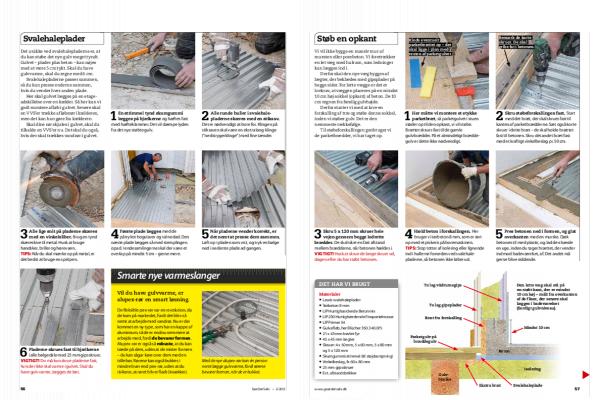 Støbning af gulv: Så let kan du støbe gulv