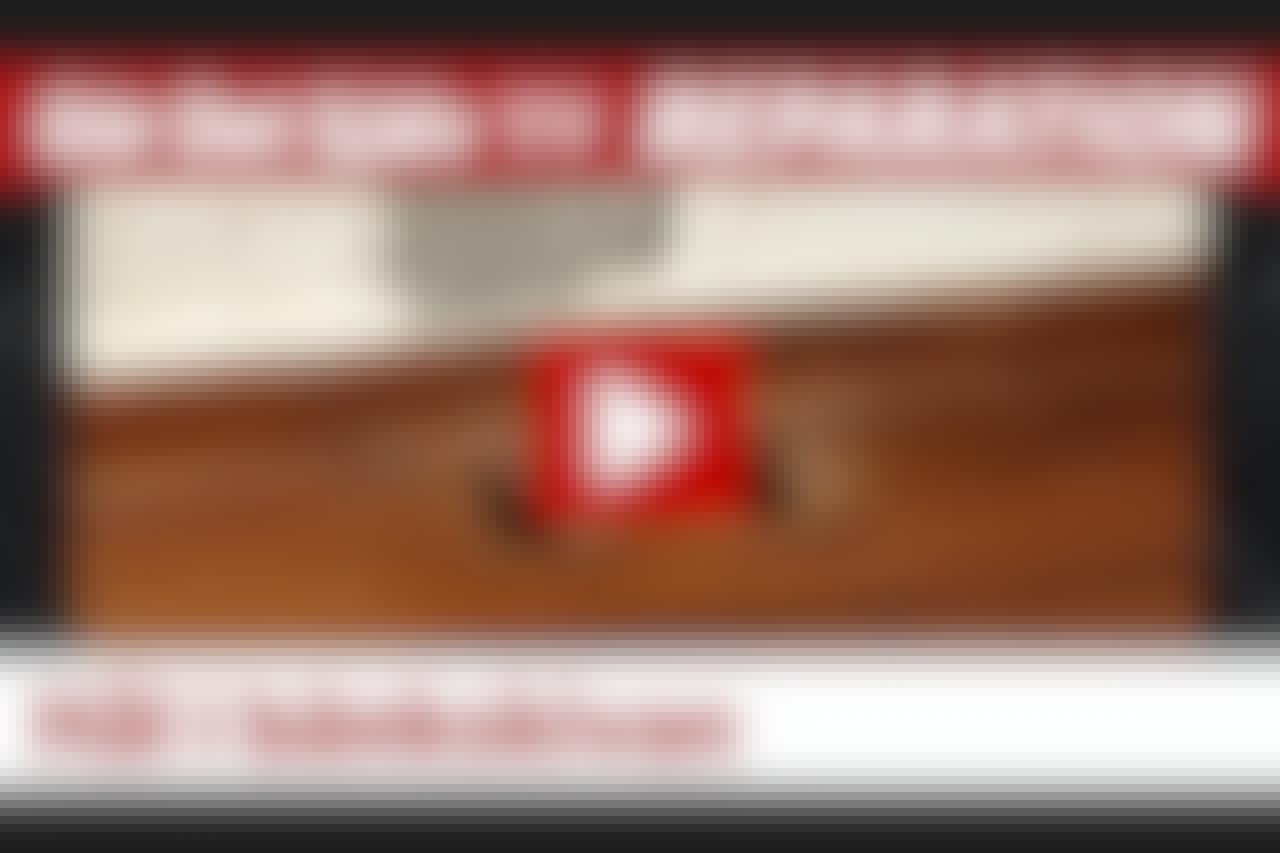 VIDEO: Hål i köksbänkskivan