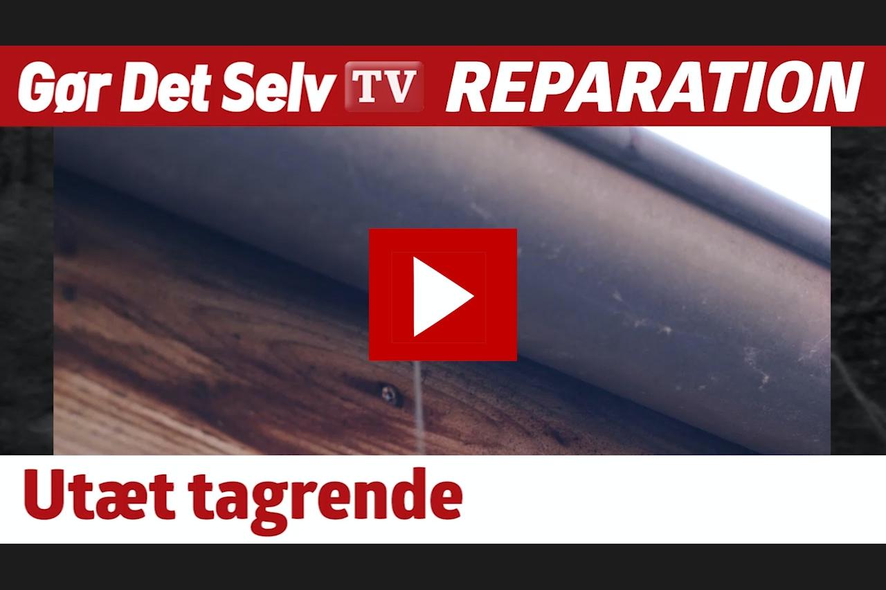 Forskellige REPARATION AF TAG: Lap tagrenden med tape | Gør Det Selv AV97